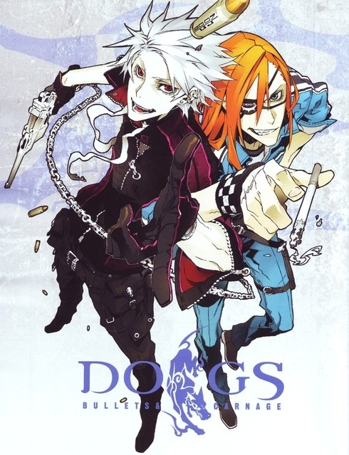 Перевод манги Dogs: Bullets and Carnage команды Rikudou-Sennin Clan